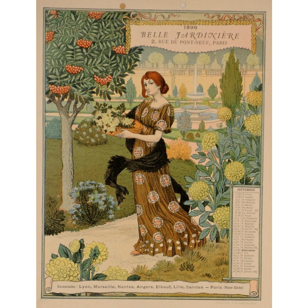 Color art nantes - A Set Of 12 Original Art Nouveau Color Lithograph By Eug Ne Grasset Malherbe 1896
