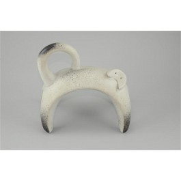 Original Vintage Art Deco Cat Sculpture