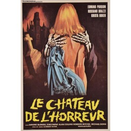"Italian Movie Poster in ""Le Chteau de l'horreur"" 1974"