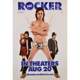 "Original American Vintage Movie Poster ""The Rocker"" 2008"