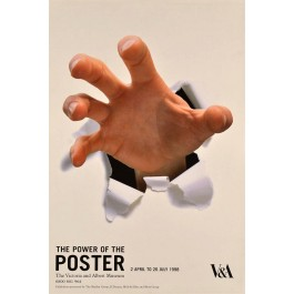 "Original Vintage Poster ""The Power Of The POSTER"" Victoria & Albert Museum"