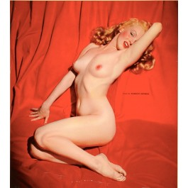"Original Vintage American Poster from ""Golden Dreams"" Calendar Marilyn Monroe 1955"