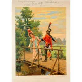 """French Poster """"Le droit de passage"""" Philippe Hellert"""
