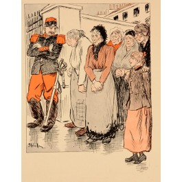 Vintage Lithograph by Théophile Alexandre Steinlen circa 1900