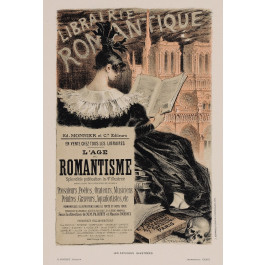 """Original Vintage French Lithograph """"Les Affiches Illustrees"""" by Grasset 1890's"""
