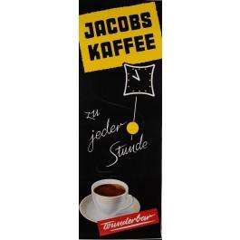 """Original Vintage German Poster Advertising """"Jacobs Kaffee"""" Coffee 1950's"""