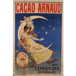 "Original French Poster Advertising ""Cacao Arnaud"" ca. 1920"