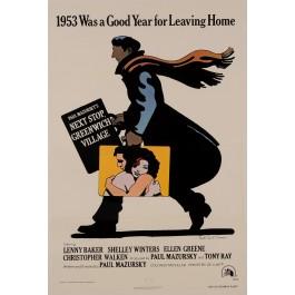 """Original Vintage Movie Poster """"Next Stop Greenwich Village"""" by M. Glaser 1953"""