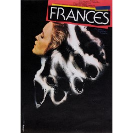 "Original Vintage Czech Movie Poster ""FRANCES"" by Jiskra 1982"