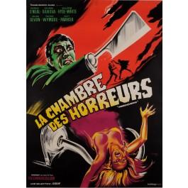 "Original Vintage French Movie Poster for ""LA CHAMBRE DES HORREUR"" by BELINSKY 66"