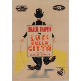 Original Italian Poster for Luci Della Citta