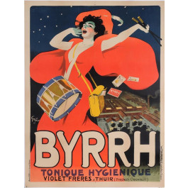 "Original Vintage French Poster Byrrh"" by Grun 1907"