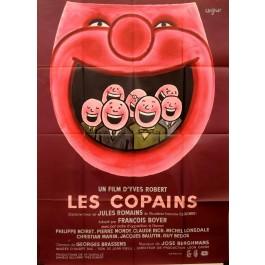 "Original Vintage French Movie Poster ""Les Copains"" by Savignac 1964"