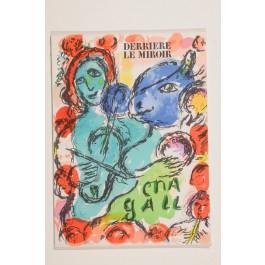 """""""Derriere le Miroir"""" (DLM) no. 198 (1972) incl. 3 Original Lithos by Marc Chagall"""