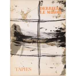 """Derriere le Miroir"" (DLM) no. 168 (1967) incl. 7 Original Lithos by A. Tapies"