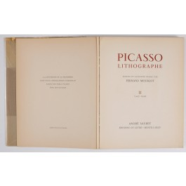 Picasso Lithographe Vol II 1947-1949 by Fernand Mourlot