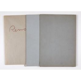 Limited Edition 16/250 Lithographs Seize Aquarelles et Sanguines de RENOIR
