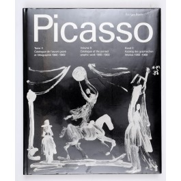 """Vintage Book Picasso """"Vol. II Catalogue of the Printed Graphic Work 1966-69"""""""