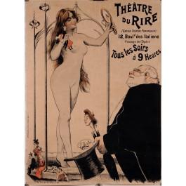 "Original French Poster ""Theatre du Rire'"