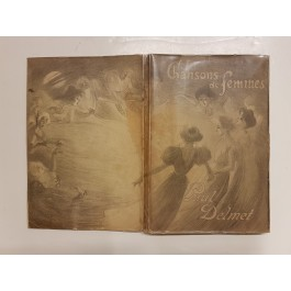 "Original Songbook ""Chansons de Femmes"" Delmet Steinlen Lithographs"