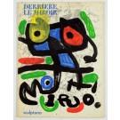 Derriere Le Miroir 186 Original Juan Miro Lithographs