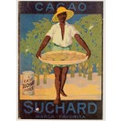 French Chocolate Poster for Suchard Marca Favorita