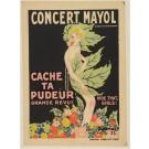 Original Vintage Poster - Cache Ta Pudeur GRAND REVUE - Charles Gesmar 1923