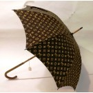 Original Vintage Louis Vuitton Umbrella Parasol Brown Monogram France