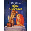 "Poster for ""La Belle et le Clochard"" Walt Disney 1955"