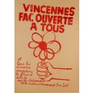 """""""Vincennes Facouverte A Tous"""" Student Revolution 1968"""