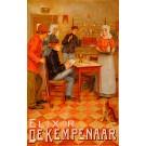 Original Vintage Belgian Poster Elixir De Kempenaar by Godfrinon ca. 1905