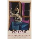 "Original Picasso Musée Cantini ""Cinquante Chefs - D'OE UVRE"" 1959 Lithograph"