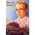 "Original Vintage French Poster advertising ""Philips"" by Draeger ca. 1960"