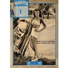 Original Vintage Italian Poster La Settimana  INCOM Featuring Rita Hayworth 1949