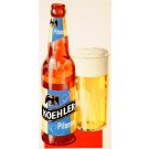 "Original Vintage Beer Advertising Poster ""Koehler Pilsener"" second printing"