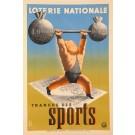 Loterie Nationale  -Tranche des SPORTS by Derouet Lesacq  1939