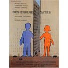 "Original Vintage French Movie Poster ""Des Enfants Gates"" by Savignac 1976"
