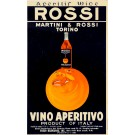 "Alcohol Advertising Poster "" Martini & Rossi"""