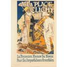 """Original Vintage French Lithograph """"Les Maîtres de l'Affiche"""" by GRASSET 1896"""