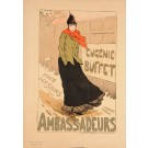 "French Lithograph ""Les Affiches Illustrees"", Chaix, Paris"