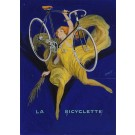 "Original Vintage Signed Maquette ""La Bicyclette"" By DORFI (Albert Dorfinant)"