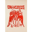 "French Student Revolution Poster ""Charonne"""