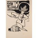 "Original Vintage French Student "" l'ange exterminateur"" Revolution 1968"