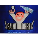 "Original Vintage French Poster ""Saint Orre"" By Alain Wienc"