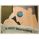 "Vintage REPRINT French Poster ""Le Petit Dauphinois"" Cappiello ca. 1980"