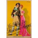 """Original Vintage French Poster """"La Fille de Madame Angot"""" Lecocq Chappy"""