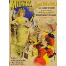 "Original Vintage French Advertising Poster ""Arista d'apres"" by Pal ca. 1890"