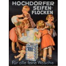 "Swiss Advertising Soap Poster ""Hochdorfer"""
