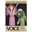 "Original Vintage Tomi Ungerer Poster ""Expect the Unexpected"" 70's"