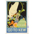 "English Poster ""Go To KEW"" by Armfield 1915"